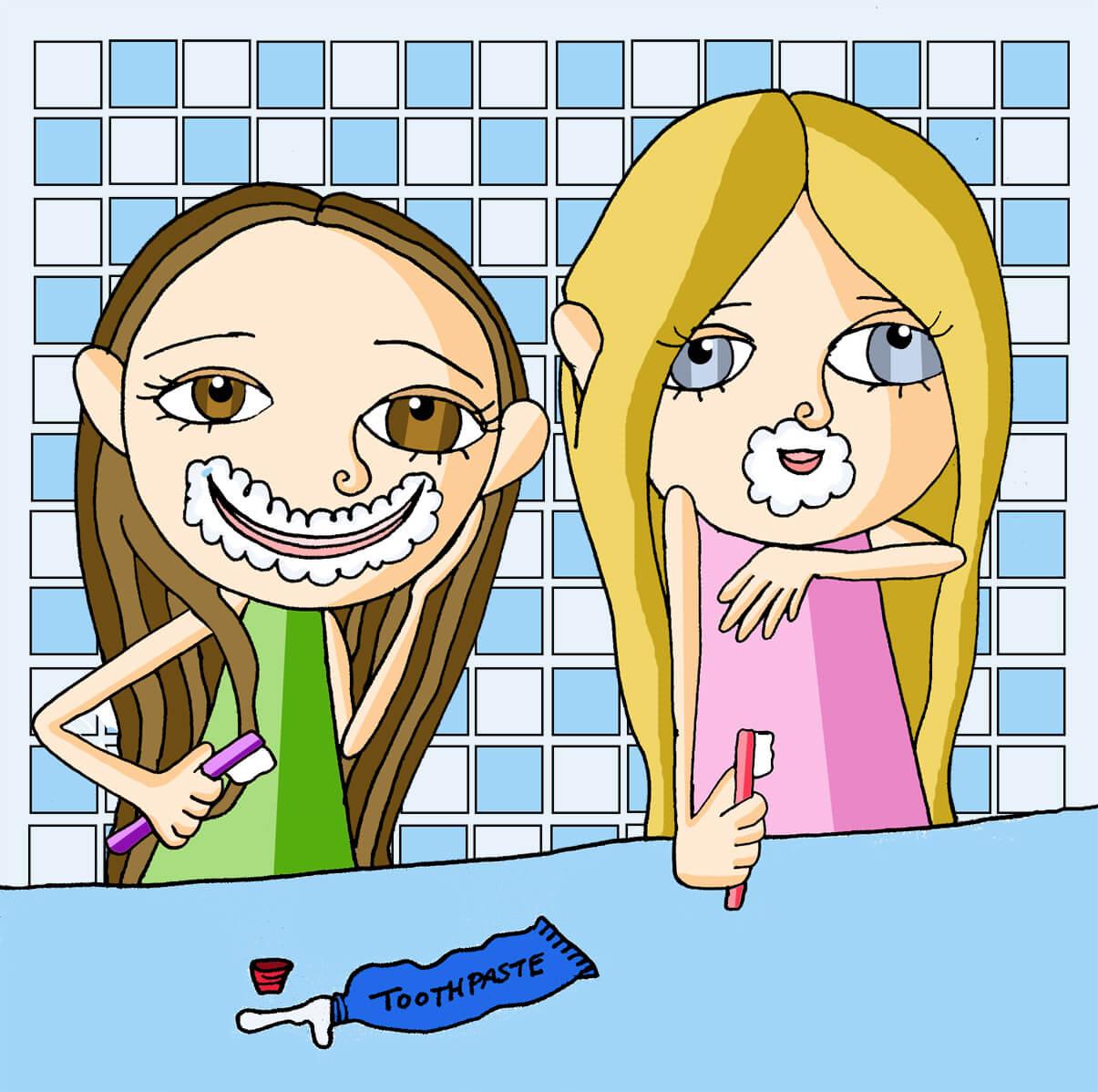 Brushing Teeth 2